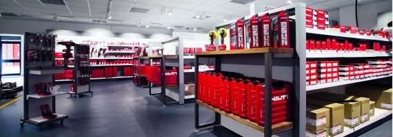 Hilti, preferred BT Konspet in Antalya Store!